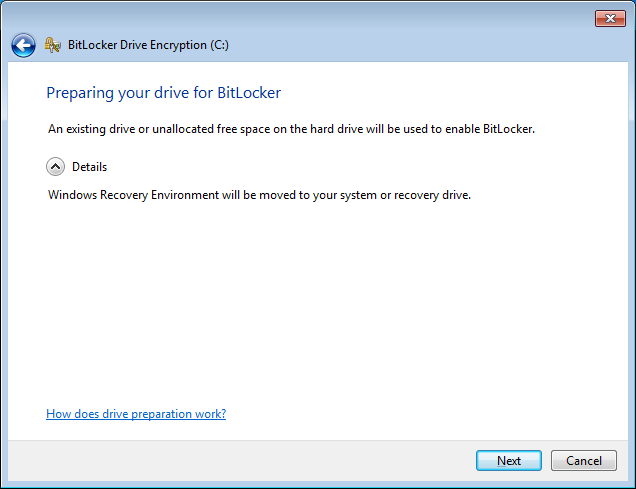 BitLocker Drive Encryption for Windows