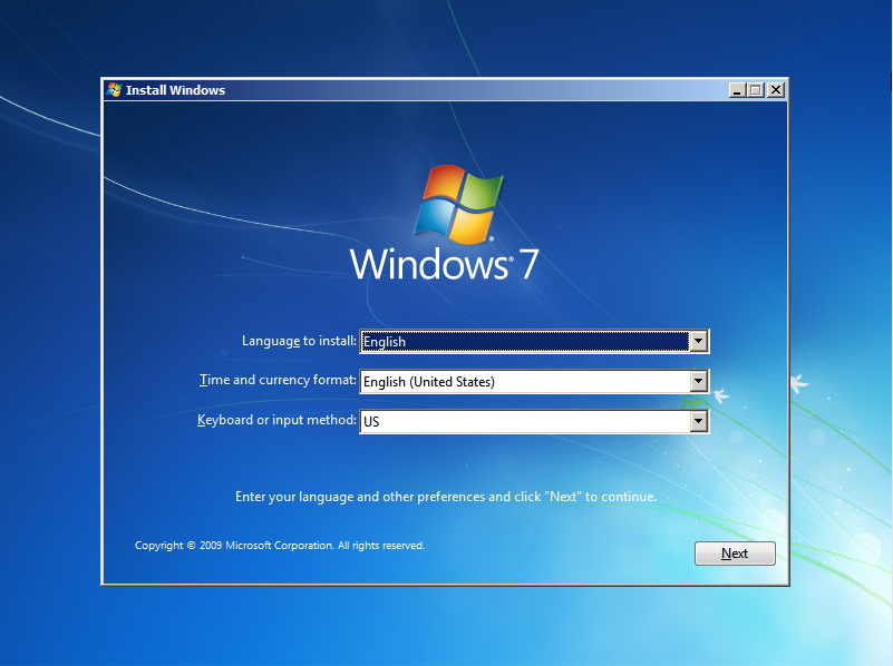 Windows 7 Media