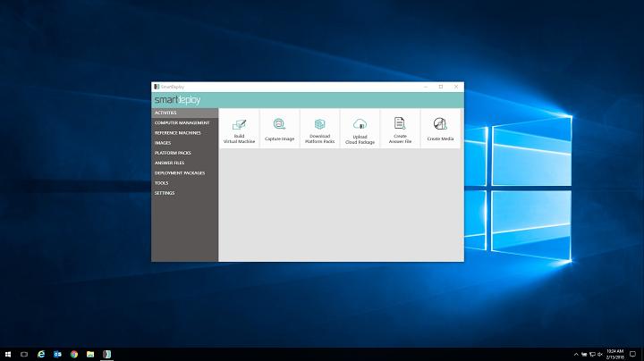 Disk imaging software demo